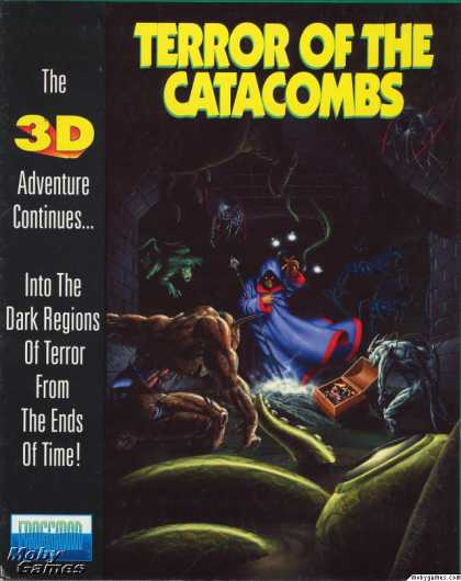 DOS Games - Terror of the Catacombs