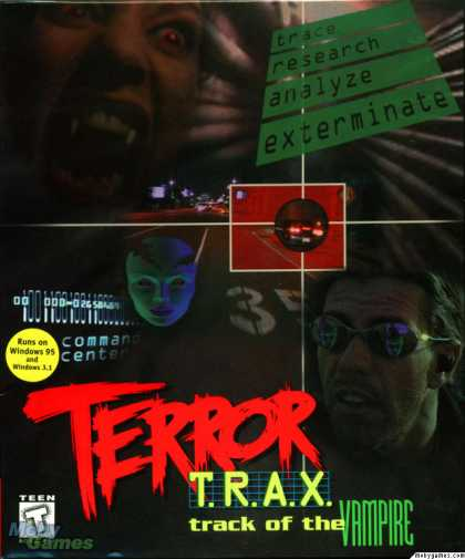 DOS Games - Terror TRAX: Track of the Vampire