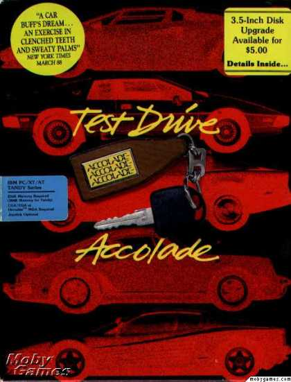 DOS Games - Test Drive
