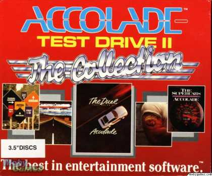 DOS Games - Test Drive II: The Collection
