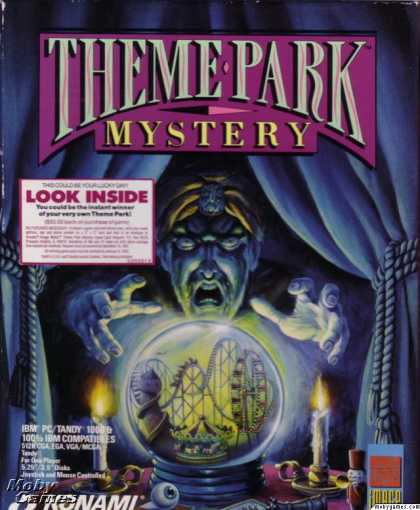 DOS Games - Theme Park Mystery