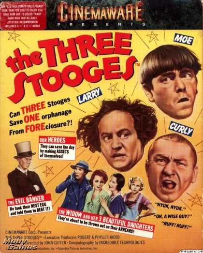 DOS Games - The Three Stooges