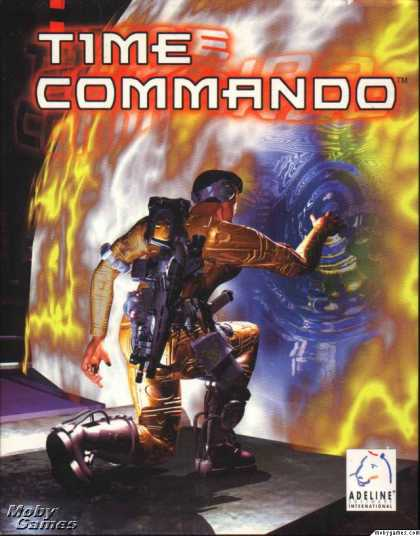 DOS Games - Time Commando