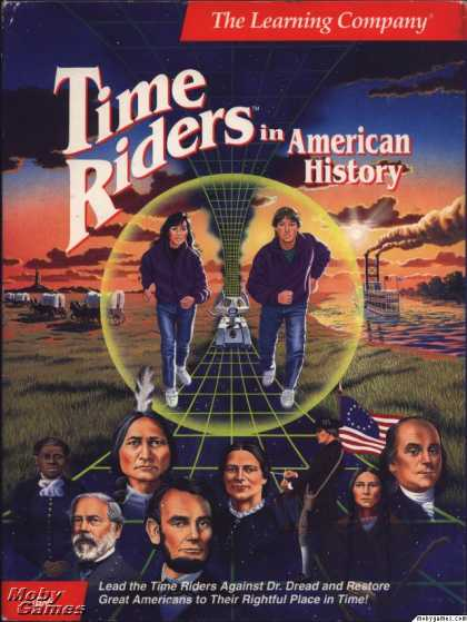 DOS Games - Time Riders in American History