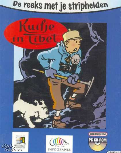 DOS Games - Tintin in Tibet