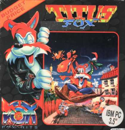 DOS Games - Titus the Fox: To Marrakech and Back