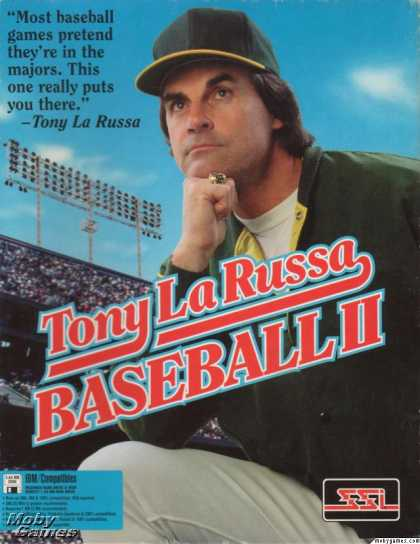 DOS Games - Tony La Russa Baseball II