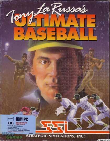 DOS Games - Tony La Russa's Ultimate Baseball