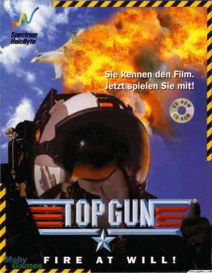 DOS Games - Top Gun: Fire at Will