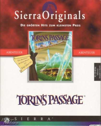 DOS Games - Torin's Passage