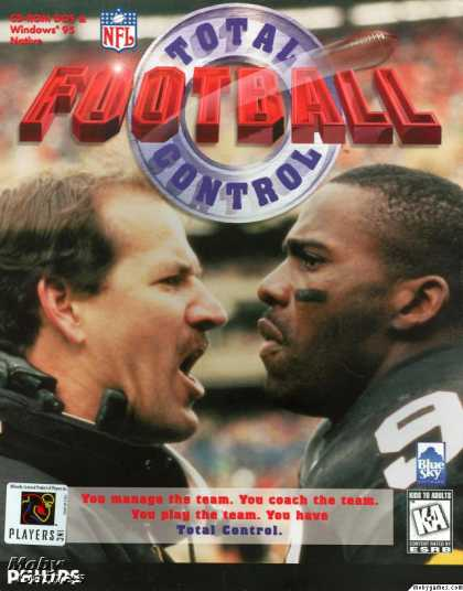 DOS Games - Total Control Football