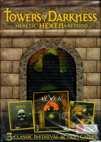 DOS Games - Towers of Darkness: Heretic, Hexen & Beyond