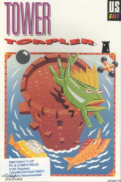 DOS Games - Tower Toppler