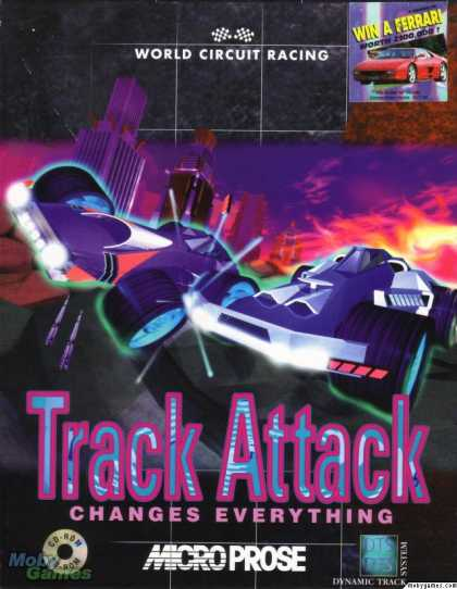 DOS Games - Track Attack