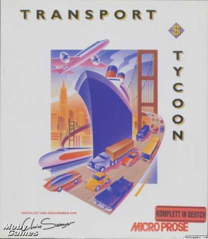 DOS Games - Transport Tycoon