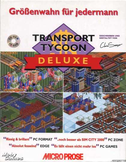 DOS Games - Transport Tycoon Deluxe