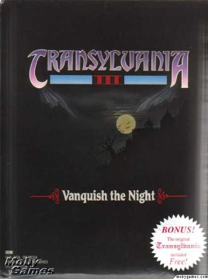 DOS Games - Transylvania III: Vanquish the Night