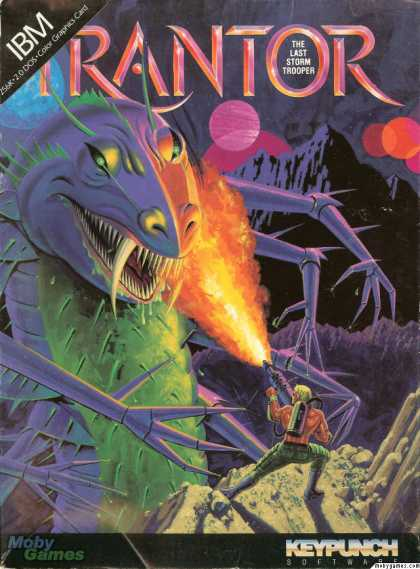DOS Games - Trantor the Last Stormtrooper