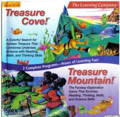 DOS Games - Treasure Cove! + Treasure Mountain!