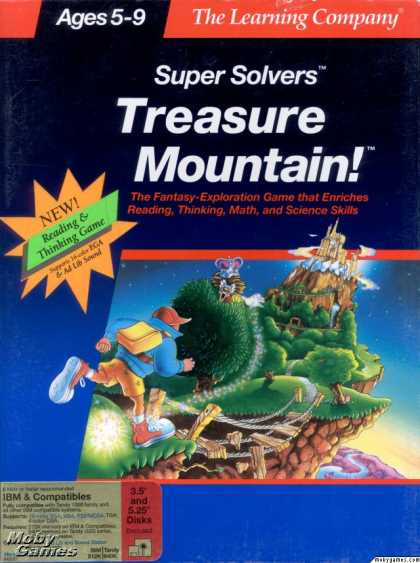 DOS Games - Treasure Mountain!
