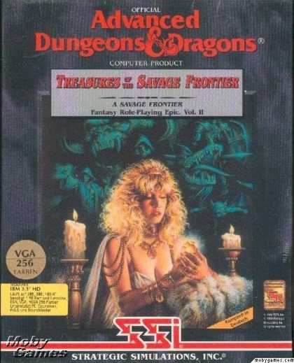 DOS Games - Treasures of the Savage Frontier