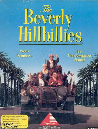 DOS Games - The Beverly Hillbillies