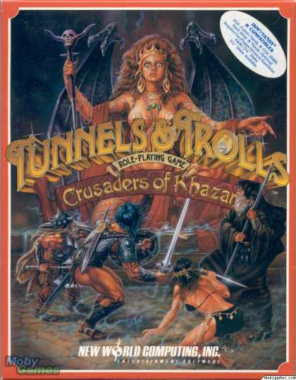 DOS Games - Tunnels & Trolls: Crusaders of Khazan
