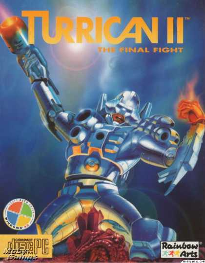 DOS Games - Turrican II: The Final Fight
