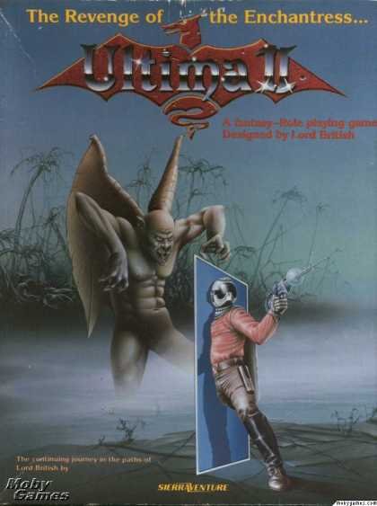 DOS Games - Ultima II: Revenge of the Enchantress