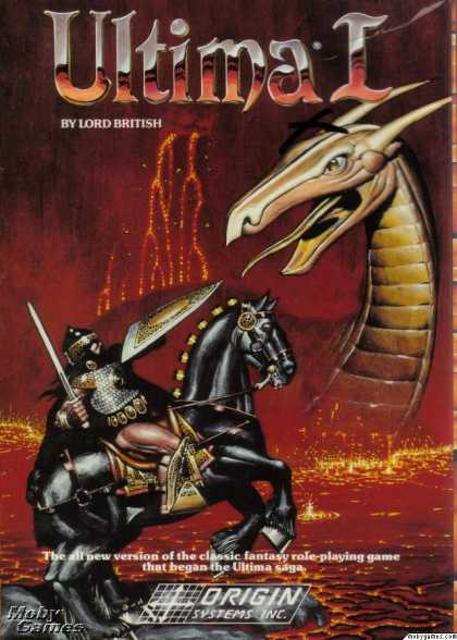 DOS Games - Ultima I: The First Age of Darkness
