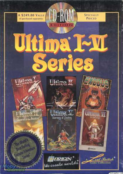 DOS Games - Ultima I-VI Series