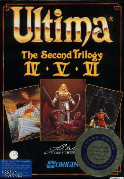 DOS Games - Ultima: The Second Trilogy