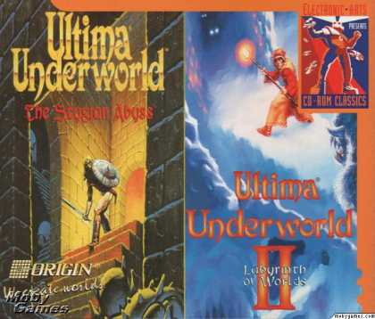DOS Games - Ultima Underworld: The Stygian Abyss and Labyrinth of Worlds