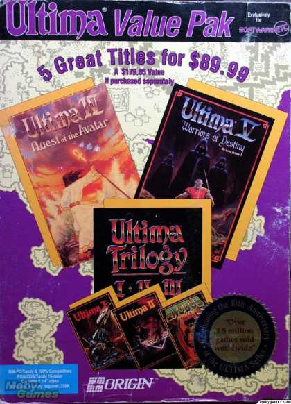 DOS Games - Ultima Value Pak