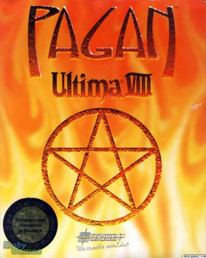 DOS Games - Ultima VIII: Pagan