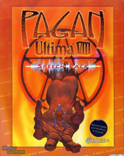 DOS Games - Ultima VIII: Pagan - Speech Pack