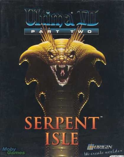 DOS Games - Ultima VII, Part Two: Serpent Isle