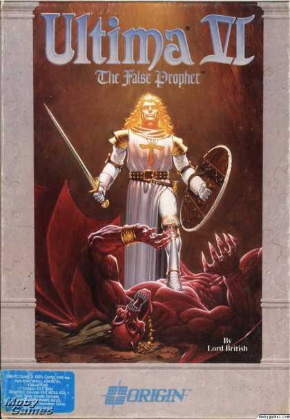 DOS Games - Ultima VI: The False Prophet