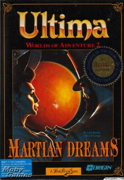 DOS Games - Ultima: Worlds of Adventure 2: Martian Dreams