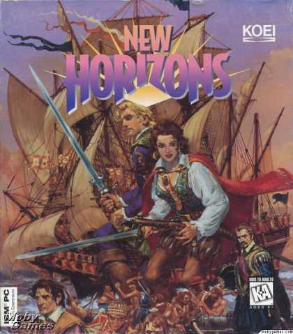 DOS Games - Uncharted Waters 2: New Horizons