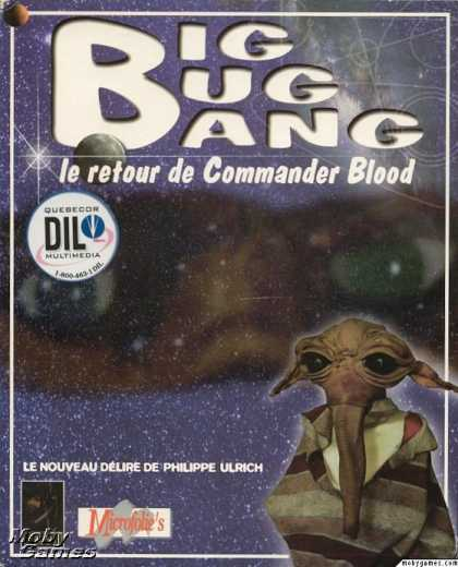 DOS Games - Big Bug Bang: Le Retour de Commander Blood
