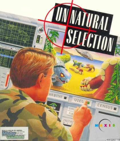 DOS Games - Unnatural Selection