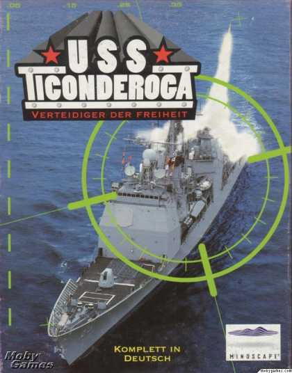 DOS Games - USS Ticonderoga