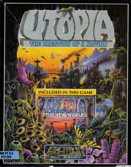 DOS Games - Utopia: The Creation of a Nation