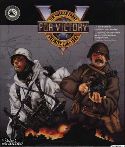 DOS Games - V for Victory: Velikiye Luki