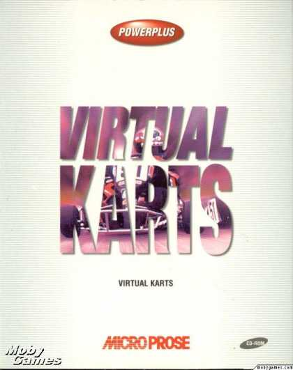 DOS Games - Virtual Karts