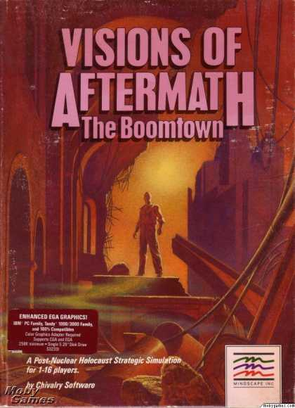DOS Games - Visions of Aftermath: The Boomtown