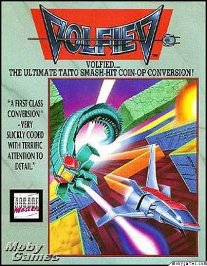 DOS Games - Volfied
