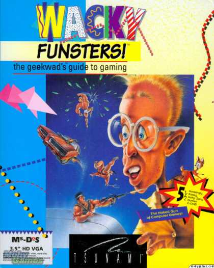 DOS Games - Wacky Funsters! The Geekwad's Guide to Gaming
