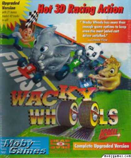 DOS Games - Wacky Wheels
